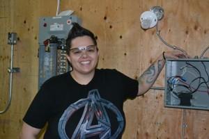 Scarlett Noel, Electrician Foundation student