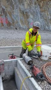 Wendy Blaskovic, plumbing apprentice